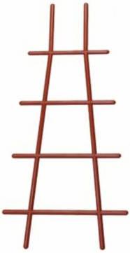 Решетка для вьюнов 40 см терра /Флора-Пласт/