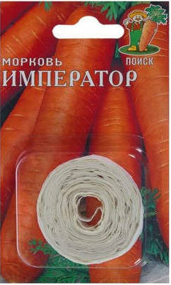Морковь Император лента (8 м) /Поиск/