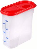 Емкость для сыпучих продуктов 1,75л мерная /Альтернатива/ (12)