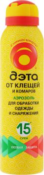 Аэрозоль от клещей и комаров 150 мл ДЭТА /Химик/