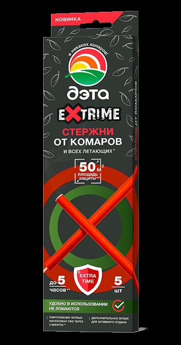 Стержни от комаров и летающих насекомых 5шт ДЭТА EXTRIME /Химик/