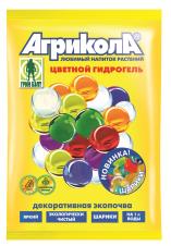 Агрикола цветной гидрогель шарики цвета разные 20 гр /ГринБэлт/