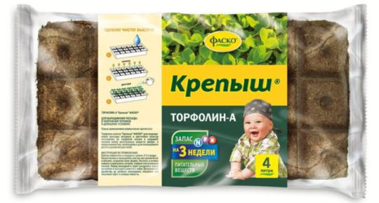 Торфолин-А Крепыш 4 л /Фаско/