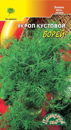 Укроп Борей кустовой (2 г) /Цветущий сад/