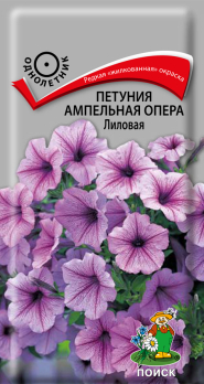 Петуния ампельная Опера Лиловая (5 шт) /Поиск/