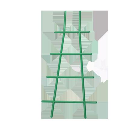 Решетка для вьюнов 56 см зеленый /Флора-Пласт/