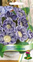 Глоксиния Импресс Синие чернила (5 шт) /Поиск/