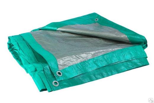 Тент 2м*3м зеленый 120гр /Фулерен/