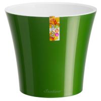 Горшок АРТЕ 0,6 л зелёное золото-белый d11 h9,7 /Сантино/