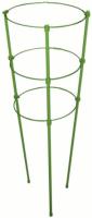 Кольцевой держатель для растений h 90cм 3 кольца /LISTOK/