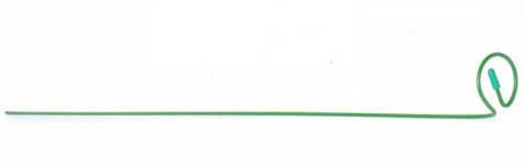 Опора для растений Гладиолус высокий 1шт 0,9м /Клеверс/