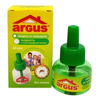 Жидкость без запаха для уничтожения комаров к электрофумигатору 30 мл ARGUS /Аванти/