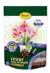 Грунт для орхидей Цветочное счастье ведро 1л /Фаско/
