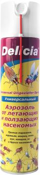Аэрозоль универсальный Delicia 400 мл от летающих и ползающих насекомых /Химбэст/