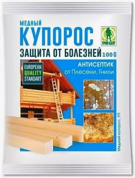 Медный купорос 50гр /ГринБэлт/