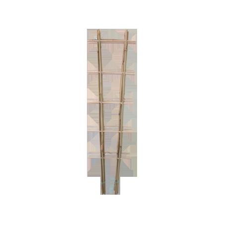 Решетка для вьюнов бамбук 0,60/2 /Флора-Пласт/