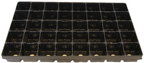 Кассета для рассады 40 ячеек 155 мл квадратная /Агроком/