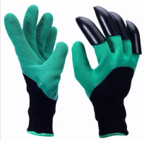 Перчатки-грабли садовые Garden Genie Gloves /Хоздвор/