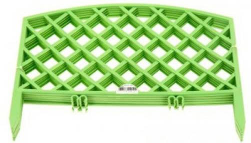 Заборчик Решетка 0,36м*2,3м салатовый /Фулерен/