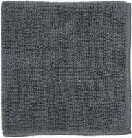 Салфетка из микрофибры 30*30 М-02 (250 гр) графит /РыжийКот/