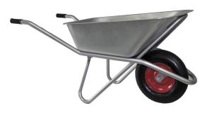 Тачка вместительность 85 литров, грузоподъемность 120 кг одноколесная колесо 3.25/3.00-8 /Вариант/