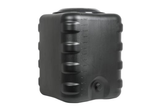 Бак для душа 150л квадратный (черный) /Альтернатива/ (2)