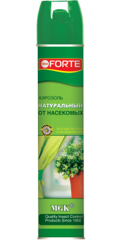 Аэрозоль натуральный от летающих насекомых-вредителей 300мл Bona Forte /Химик/