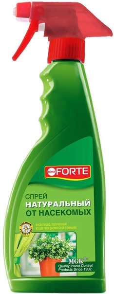 Спрей натуральный от насекомых 500 мл Bona Forte /Химик/