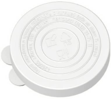 Крышка полиэтиленовая для горячего консервирования Т2 (набор 10шт) /ИнтерМ/1/40/