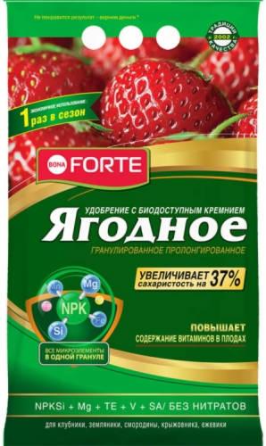 Bona Forte Удобрение гранулир. пролонгированное ягодное с биодоступным кремнием 2,5кг /Химик/