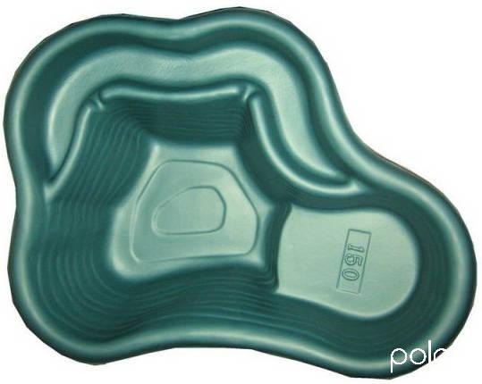 Пруд V-150 1200х900х400 зелёный /Экструзион/