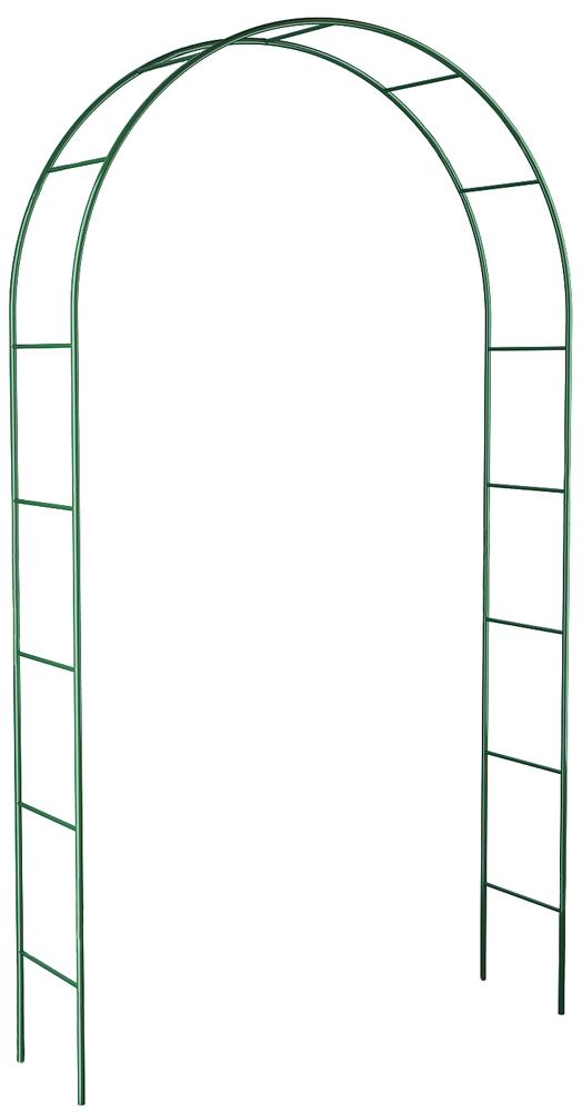Арка Лесенка металл (разборная) в:2,4 м ш:1,2-1,3 г:0,36 м /Рустрейд/