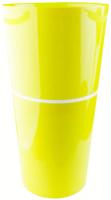 Кашпо Double Flowerpot из 2-х частей d29,h55,5 см салатовый /Флора-Пласт/