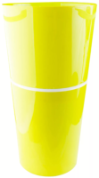 Кашпо Double Flowerpot из 2-х частей d25,h46,5 см салатовый /Флора-Пласт/DDB25