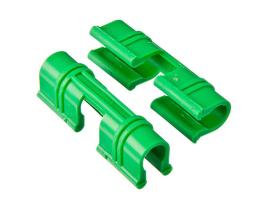Зажим для крепления пленки к каркасу парника d10-12 мм 18шт /Диорит/