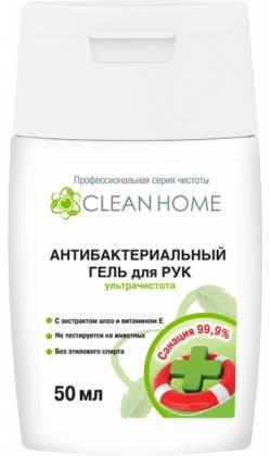 Антибактериальный гель для рук ультрачистота 500мл CLEAN HOME /ХимРос/