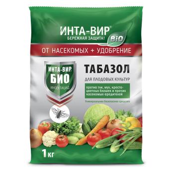 Табазол биологическое удобрение и инсектицид 1 кг Инта-Вир /Фаско/